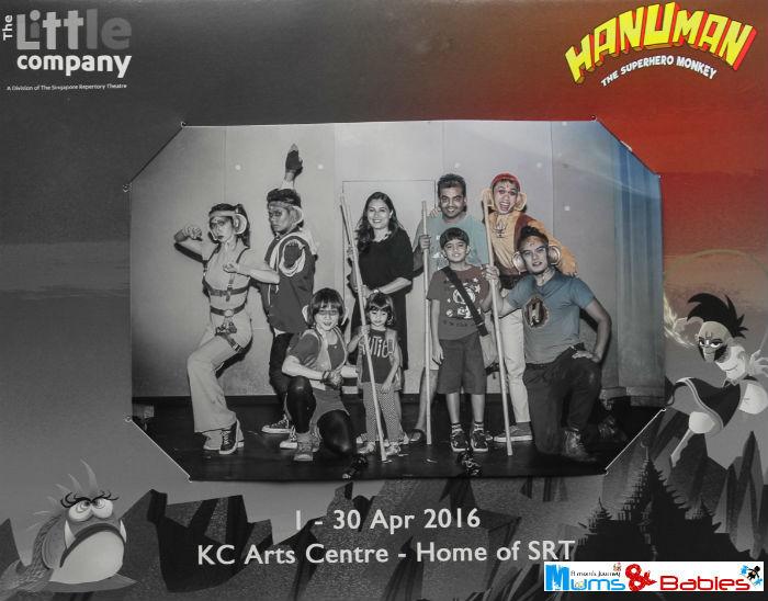 Hanuman The Superhero Photo