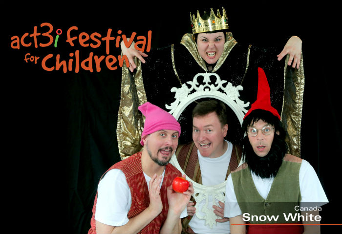 ACT 3i Festival for Children Snow White (logo)