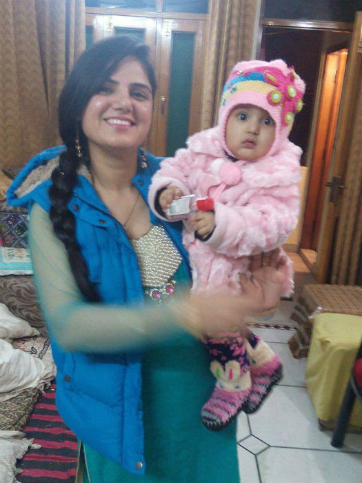 Motherhood means learning being more patient each day & becoming overwhelmed at each expression of cherry.- Pooja