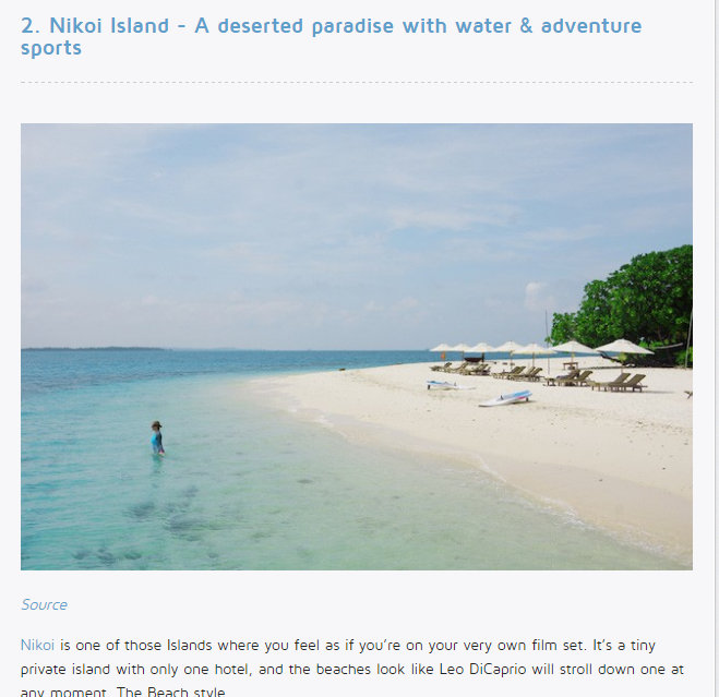The Smart Local Nikoi Island