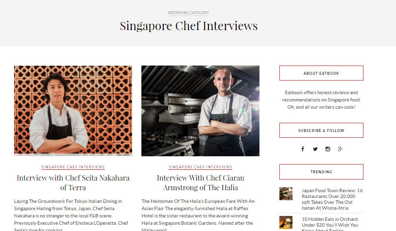 Eatbook chef interview