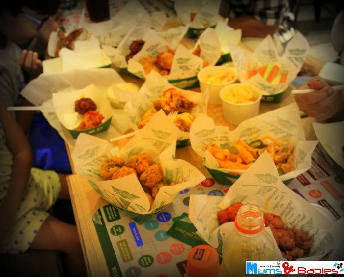 Wingstop meal