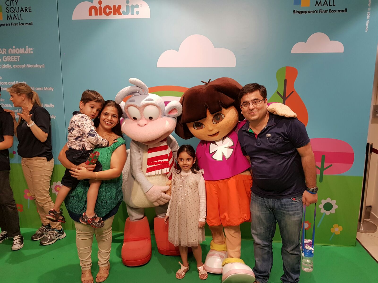 Nick Jr Christmas City Square Mall