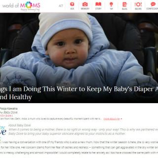 Baby's Diaper Area