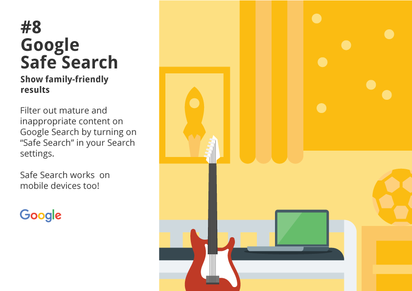 8. Google Safe Search