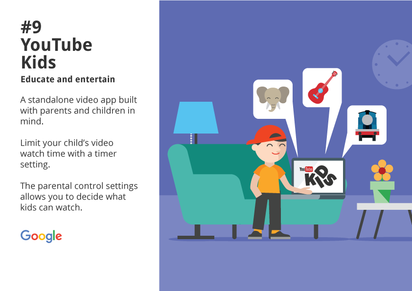 9. YouTube Kids