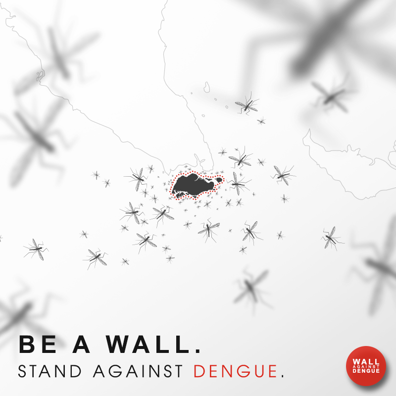 Be a wall stand against dengue