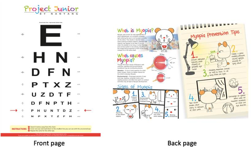 Nanyang optical project eyelet junior